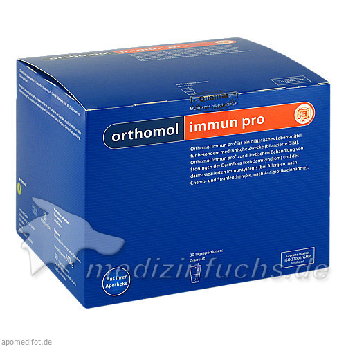 Orthomol Imm.Pro Granulat, 30 Stk.,