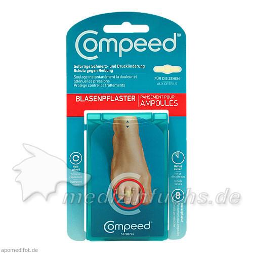Compeed Blasenpflaster für die Zehen, 8 Stk.,
