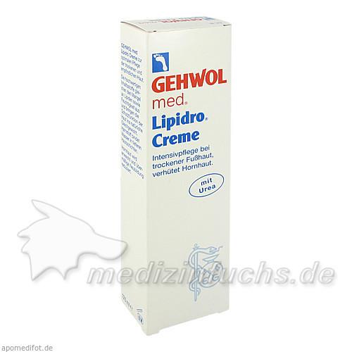 Gehwol med Lipidro Creme, 125 ml, SYNPHARMA GMBH