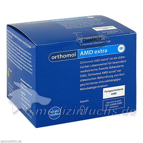 Orthomol Amd Extra Kapseln, 120 Stk.,