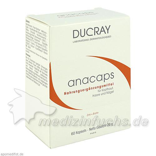 Ducray Anacaps Kapseln, 60 Stk., PIERRE FABRE