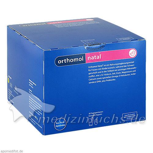 Orthomol Natal Granulat und kapseln, 30 Stk.,