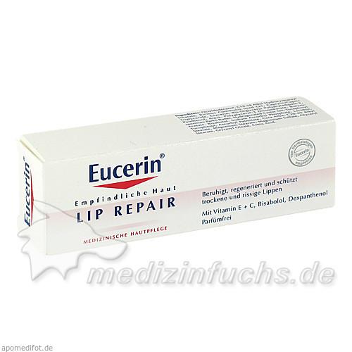 Eucerin Lip Repair Lippenbalsam, 10 ml, BEIERSDORF G M B H
