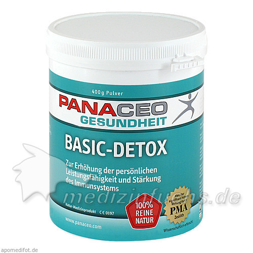 PANACEO Gesundheit Basic-Detox, 400 g, Panaceo Intern. Active Mineral Production GmbH
