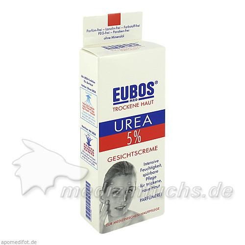 Eubos Urea 5% Gesichtscreme, 50 ml,