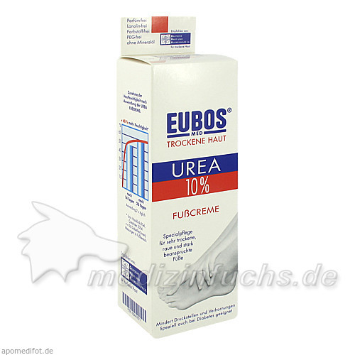 Eubos Urea 10% Fußcreme, 75 ml, Jacoby GM Pharma GmbH