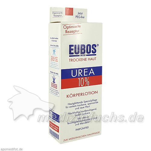 Eubos Urea 10% Körper Lotion, 200 ml,