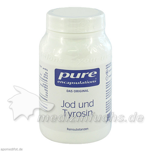 Pure encapsulations Kapseln Jod+tyrosin, 60 Stk.,