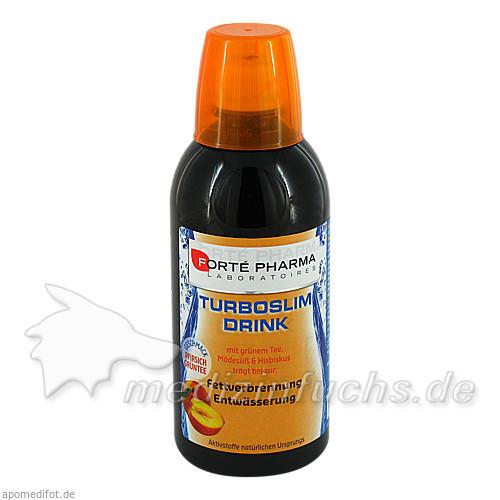 TurboSlim Drink Pfirsich-Grüntee, 500 ml,