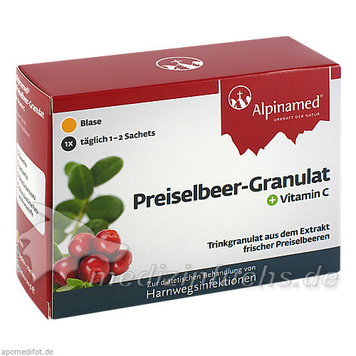 Alpinamed® Preiselbeer-Granulat, 20 St, Gebro Pharma GmbH