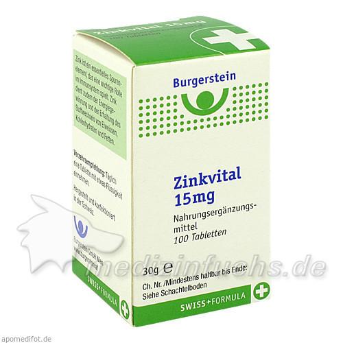 Burgerstein Zinkvital, 100 St, Burgerstein Oesterreich GmbH