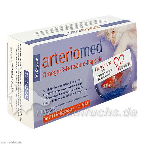 arteriomed® Omega-3-Fettsäure Kapseln, 30 St, ECA Medical Handels-GmbH