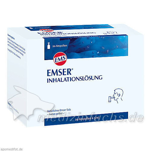 Emser Inhalationslösung, 20 Stk.,