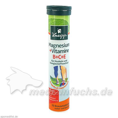Kneipp® Magnesium + Vitamine B+C+E, 20 St, Vital Pharma GS GmbH