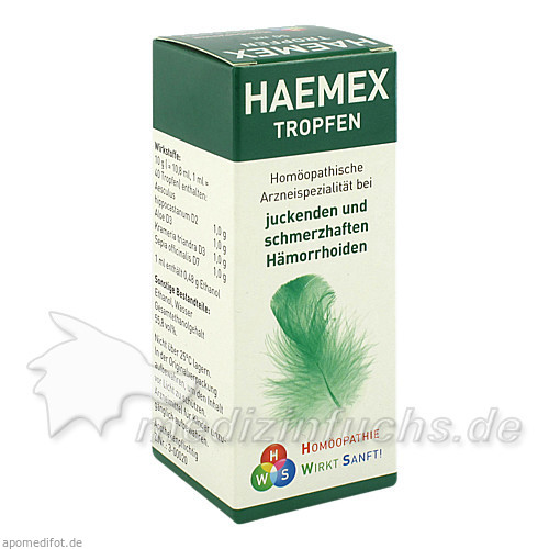 HAEMEX Tropfen, 50 ml, HWS-OTC Service GmbH