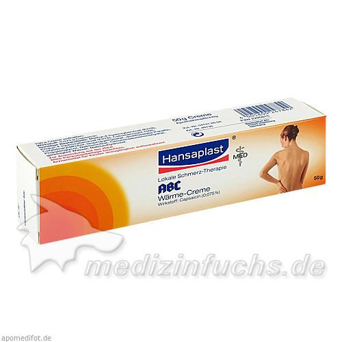 Hansaplast ABC® Lokale Schmerz-Therapie Wärme-Creme, 50 g, Beiersdorf GmbH