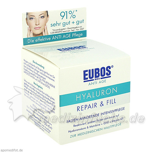 Eubos Hyaluron Repair&Fill, 50 ml, Jacoby GM Pharma GmbH