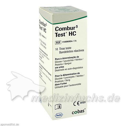 Combur5 Test HC Teststreifen, 10 Stk., Roche Diagnostics Deutschland GmbH