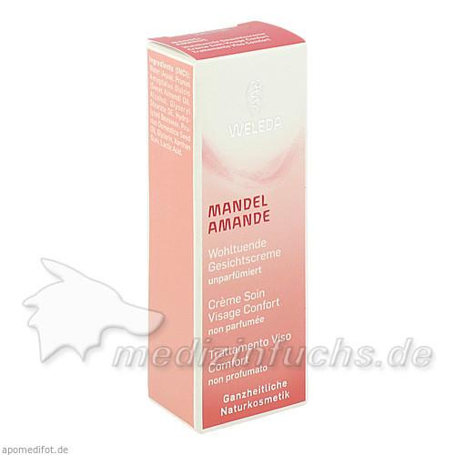 WELEDA Mandel Wohltuende Gesichtscreme, 30 ml,