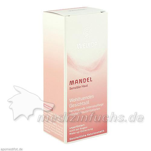 Weleda Mandel Gesichtsöl Wohltuende, 50 ml,