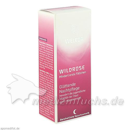 Weleda Wildrose Glättende Nachtpflege, 30 ml,