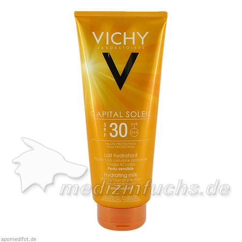 Vichy Idéal soleil Sonnenmilch SPF30 (Körper+Gesicht), 300 ml, VICHY