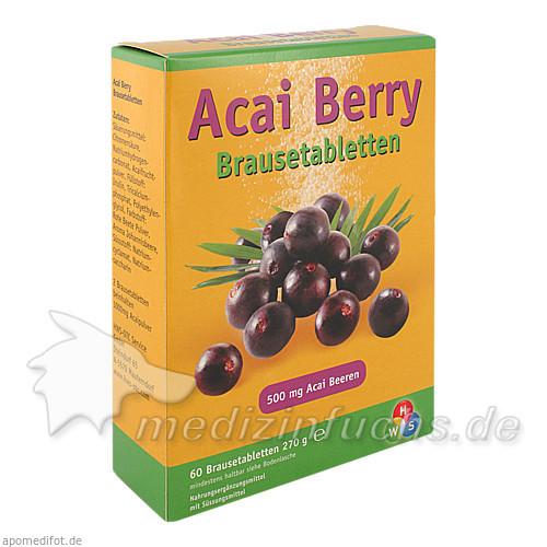 Acai Berry Brausetabletten, 60 St, HWS-OTC Service GmbH
