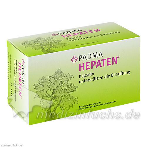 PADMA HEPATEN® Kräuterkapseln, 120 ST, Padma Europe GmbH