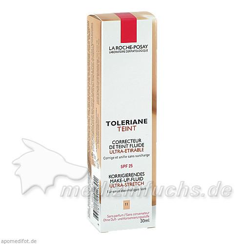 La Roche Toleriane Teint: Korrigierendes Make-up Fluid - Beige Clair, 30 ml, LA ROCHE POSAY