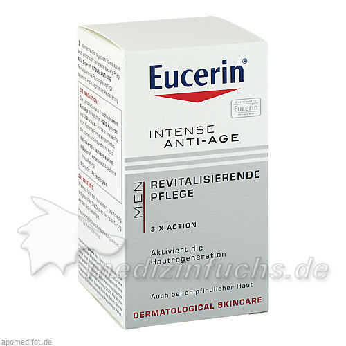 Eucerin Men Intense Anti-Age Revitalisierende Pflege, 50 ml,