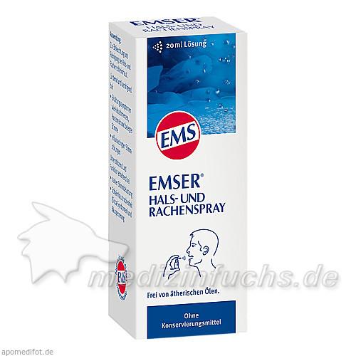 Emser Thymian Salbei Hals- und Rachenspray, 20 ml,