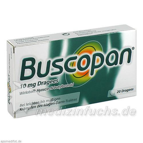 Buscopan® Dragées 10 mg, 20 St, Boehringer Ingelheim RCV GmbH & Co KG