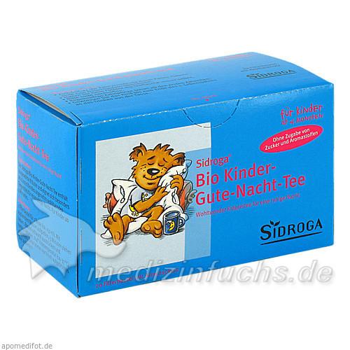 Sidroga Bio Kinder-Gute-Nacht Tee, 20 Beutel, Siemens & Co Pharma Ges.m.b.H.