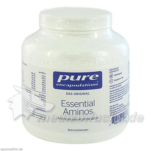 Pure encapsulations Kapseln Essential Aminos, 180 Stk.,
