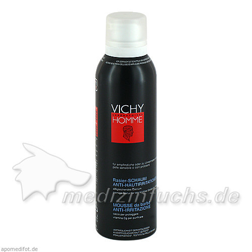 Vichy Homme Rasierschaum Anti-Hautirritationen, 200 ml, VICHY