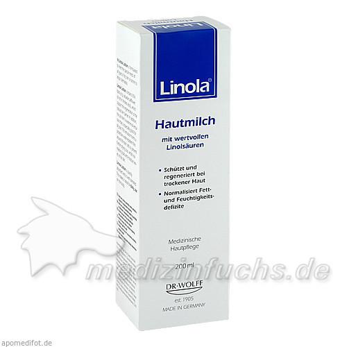 Linola Hautmilch, 200 ml, s.a.m. Pharma Handel GmbH