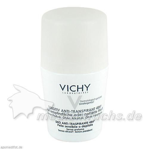 Vichy Anti-Transpirant 48h für sensible Haut Roll-on, 50 ml, VICHY