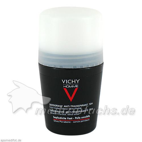 Vichy Homme Deodorant Extreme Control Roll-on, 50 ml, VICHY