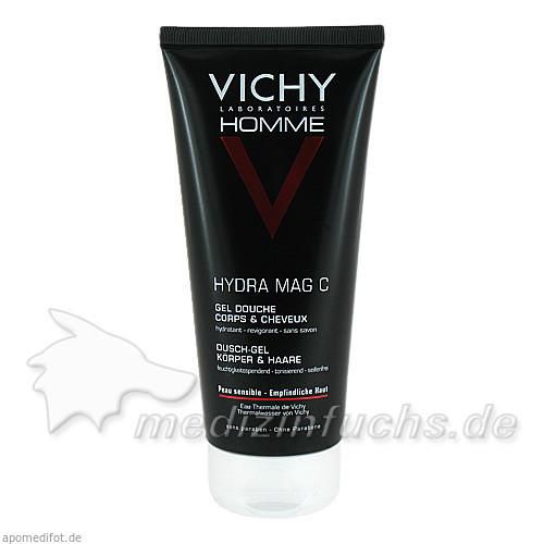 Vichy Homme Hydra Mag-C Duschgel, 200 ml, VICHY