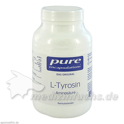 Pure encapsulations Kapseln L-Tyrosin, 90 Stk.,