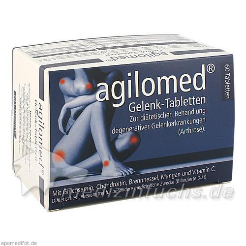 agilomed® Gelenktabletten, 60 St, ECA Medical Handels-GmbH