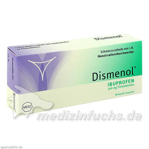 Dismenol® Ibuprofen 200 mg, 20 St, Merz Consumer Care Austria GmbH