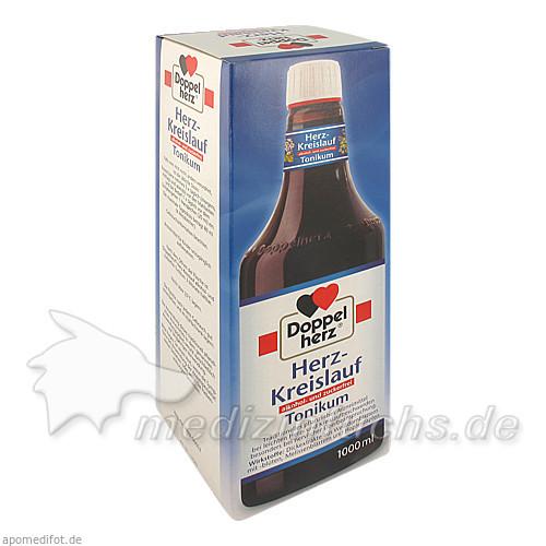 Doppelherz® Herz-Kreislauf Tonikum alkohol- und zuckerfrei, 1000 ML, Dr. A. & L. Schmidgall GmbH & Co KG