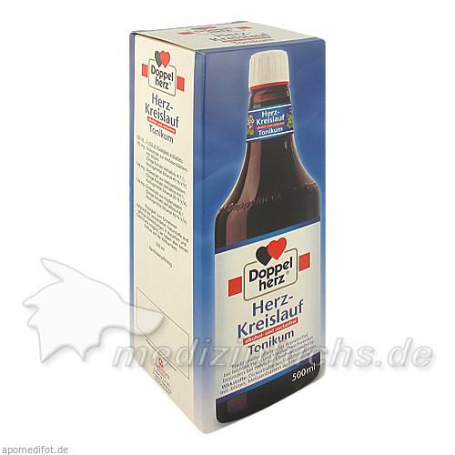 Doppelherz® Herz-Kreislauf Tonikum alkohol- und zuckerfrei, 500 ML, Dr. A. & L. Schmidgall GmbH & Co KG