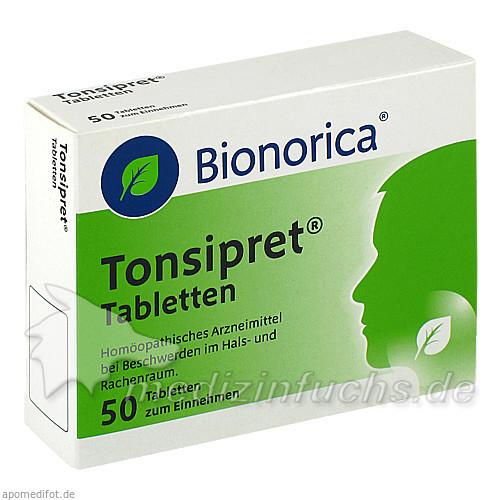 Tonsipret® Tabletten, 50 ST, Bionorica Austria GmbH