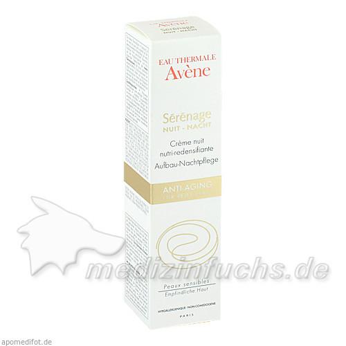 Avene Serenage Anti-Aging Aufbau-Nachtpflege, 40 ml,