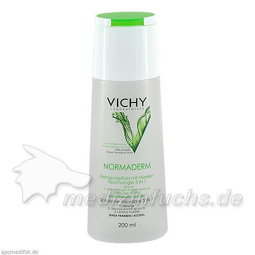 Vichy Normaderm Reinigungsfluid mit Mizellen, 200 ml,