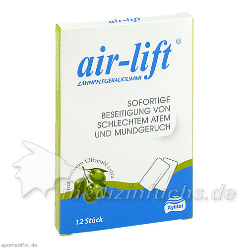 Air-lift Kaugummi, 12 Stk., CURADEN AG