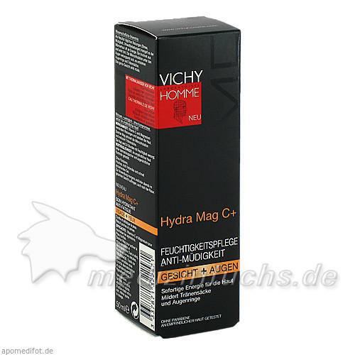 Vichy Homme Hydra Mag-C Gesichtscreme, 50 ml, VICHY