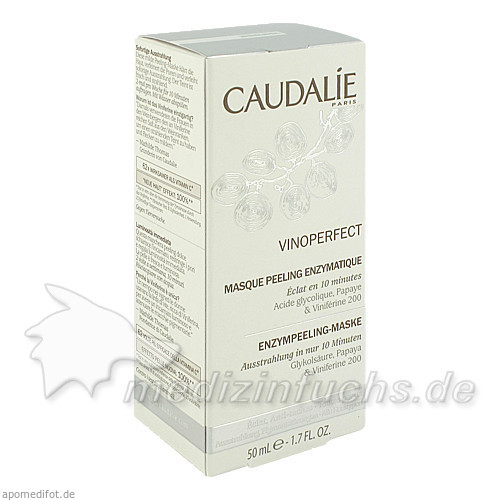 Caudalie Peeling Maske Glykolsre, 75 ml,